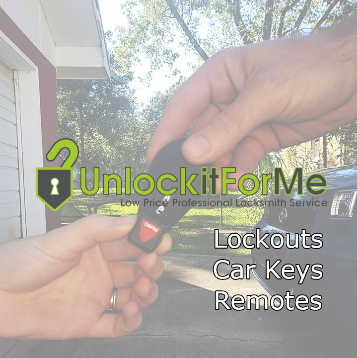 UnlockItForMe locksmiths provide car door unlocking, car key duplication and more.